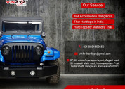Best 4x4 modification and 4x4 equipments in india