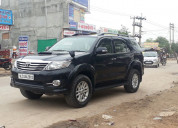 Fortuner car hire in jaipur - luxury car rental