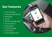 Field employee tracking app-travelize