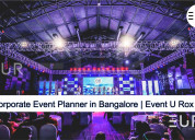 Corporate event planners in bangalore | event u ro