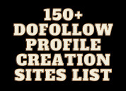 Free high da pa dofollow profile creation site