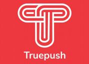 #forever free web notification service truepush