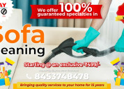 Sofa cleaning service  in bangalore