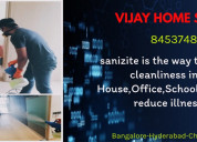 Sanitization for home and work place