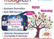 Complete it services solution company in india.