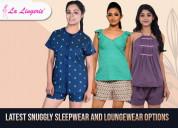 Buy beautiful nightsuit sets and nightwear online