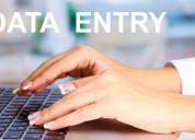 Data entry executive jobs in delhi