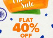 Crocs™ india flat 40% off freedom sale