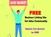 Sahu market business listing platform