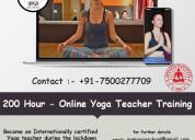 Online yoga teacher training in rishikesh | aym