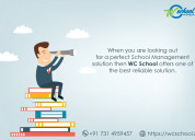 Web application for school management in indore