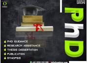 Thesis dissertation phd guidance