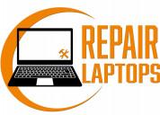 Repair  laptops contact us..