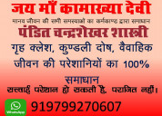 Famous astrologer mr. chandrashekhar shastri,