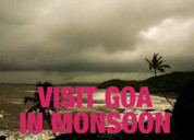 Have a blissful monsoon trip to goa