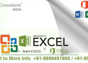 Excel training in delhi and online sla consultants