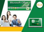 Excel certification in delhi and online  sla consu