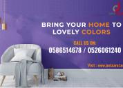 Top interior wall painting services dubai