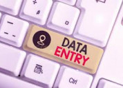 Now start your own company of data entry