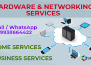 We are providing hardware networking services