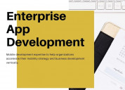 How are enterprise app development will grow your