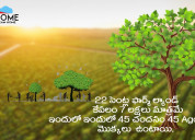 22 cents sandalwood plantation 7 lakhs only in pra