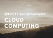 Cloud computing services and advantages
