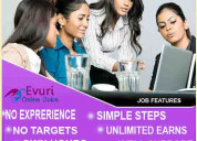Do want genuine online home based worksimple typin