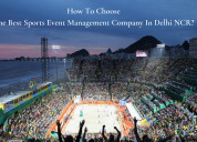 Sports event management company in delhi ncr?