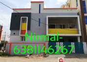 2 portion 2bhk house for sale in saravanampatti, n