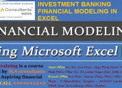Financial modeling course in gurgaon sla consultan