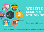 Website designing and development services (ready