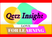 Qetz insight online learning channel for kids | le