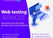 Web testing service in noida