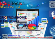 Part & full time home based online work