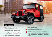 Best mahindra thar modifications and equipments