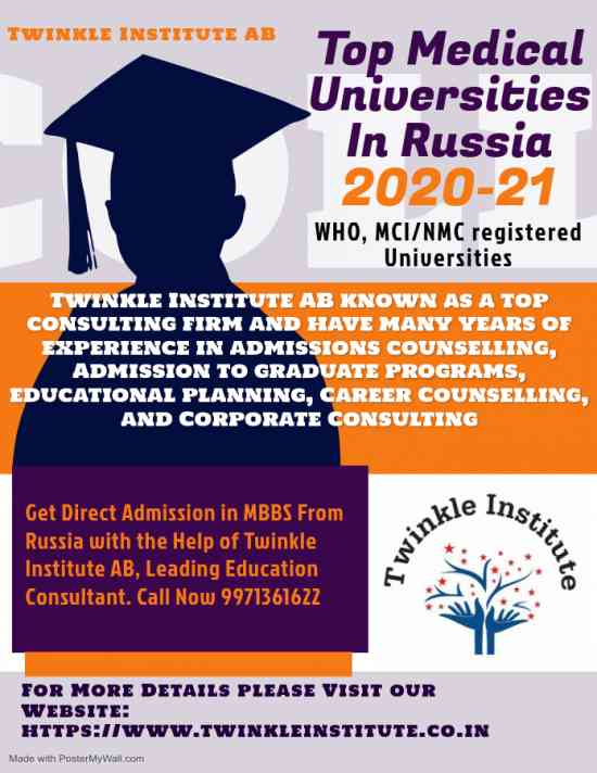 Russian MBBS College 2020-21 Twinkle InstituteAB