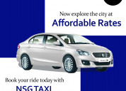 Hire best cab at affordable rates