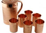 Copper utensils items