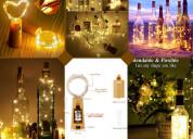 Buy swanky wine cork light bottle for home decor o
