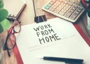 Vacancy available for home based work