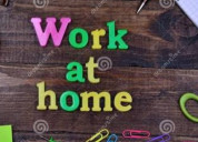 Need candidates for home based work