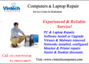 Laptop repair doorstep services in hyderabad