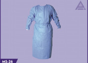 Sms gown / laminated gown / apron / patient gown