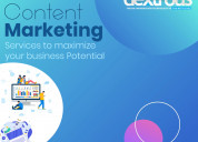 Content marketing services to make brand quality