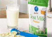 How safe is it to consume powdered goat milk?