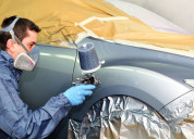 Vehicle spray booth manufacturers - paint booth