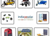 Buy solar products online to save electricity bill