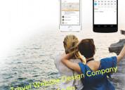 Travel website design company india