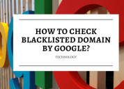 How to check domain blacklist